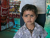 Young boy in shop, Pavagadh Hill, Gujarat State, India