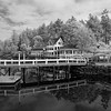 Madrona Bar and Grill,  Roche Harbor B&W