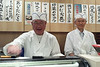 Our sushi chefs - Yokohama, Japan ... June 7, 2014 ... Photo by Rob Page III