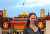 Emily in front of the Jokhang Temple - Lhasa, Tibet, China ... May 22, 2014 ... Photo by Rob Page III