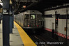 R32 stock are the oldest trains in use on the subway. One such example is pictured at 59th street on the C Line. Fri 15.11.13