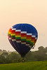 Hot air balloons at the National Balloon Classic 2014 in Indianola, Iowa, USA.