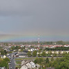 View of the Rainbow from St. Canice's Cathedral Round Tower Kilkenny, Ireland May 11, 2013
