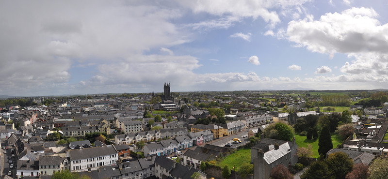 View from St. Canice's Cathedral Round Tower Kilkenny, Ireland May 11, 2013