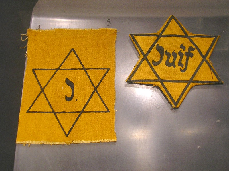 Jewish Identification Patches