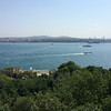 View of Bosphorus (and Asian side) from Topkapi Palace