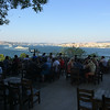 Cafe at Gulhane Park overlooking Bosphorus
