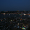 View from Galata Tower at night