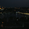 Suleymaniye Mosque at night from Galata Tower