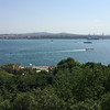 View of Bosphorus and Asian shore from Topkapi Palace