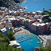 View of Vernazza, in the Cinque Terre, Italy