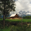 23c. Moulton barn on Mormon Row in the Grand Teton National Park. Late June.