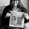 Alison Smith (Northeastern '12) was featured on the cover of the Boston Herald after her home in Mission Hill was robbed twice. Hoping to promote neighborhood safety and accountability, Alison was happy to help with the Herald's article.