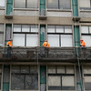Construction Workers, Orange Color Test, Boston, 4/4/14, JO303, Mary Bell