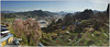 A panoramic view from our room at Takayama Kankou Hotel (Fornerly Shikisai no Yado Hagi Takayama)