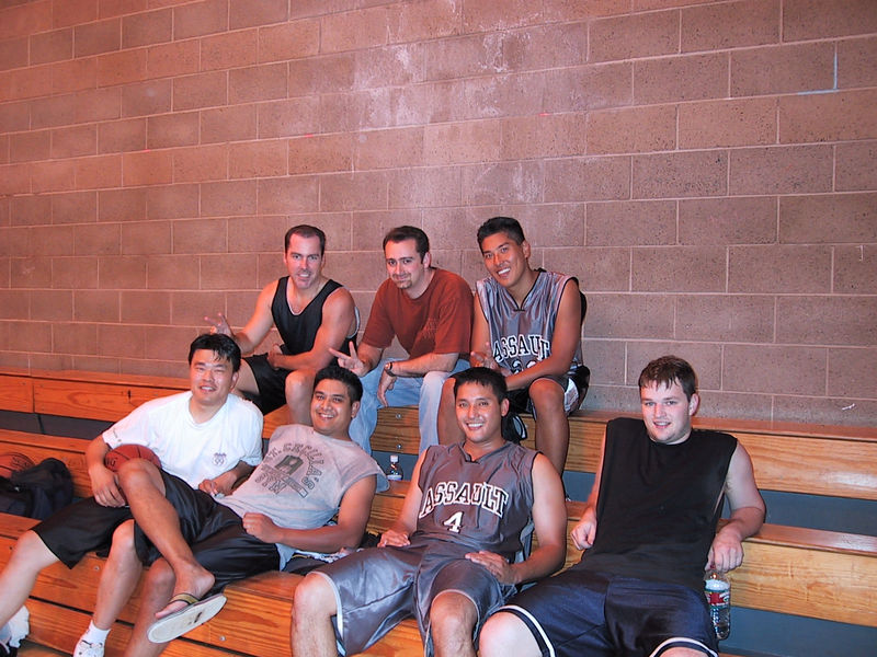 My old basketball team, Assault