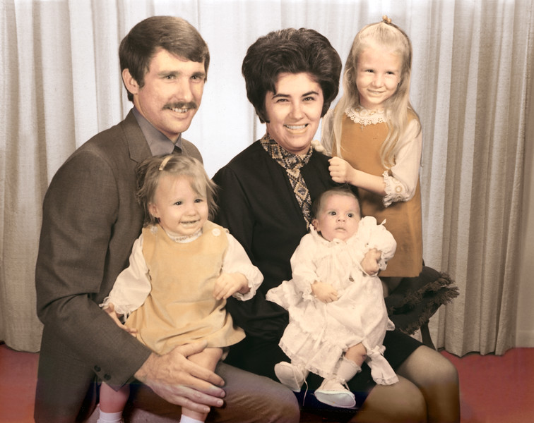 Huddleston (Richard & Nancy) Family (1971)
