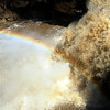 A rainbow is seen at East Falls Riverwalk in Elyria on April 8. STEVE MANHEIM/CHRONICLE