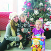 The Ternes family -- Mom, Jack, 1, and Stella, 5 -- donate toys every year.