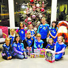 Girl Scout Troup 50128 from St. Jude first grade came to the Chronicle-Telegram for a tour on Dec. 4 and wanted to donate toys to the Not Forgotten Box. Pictured are back row: Alesha, Melody, Audrey, Aubree, Emily and Alliyah; front row: Alayna, Maddie, Kayla, Ashley and Grace.