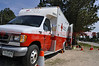 American Red Cross Disaster Relief Personnel on the scene of the Black Forest Fire Incident.