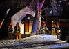 Colorado Springs Firefighters on the scene of a house fire on Tremont Street. December 10, 2013