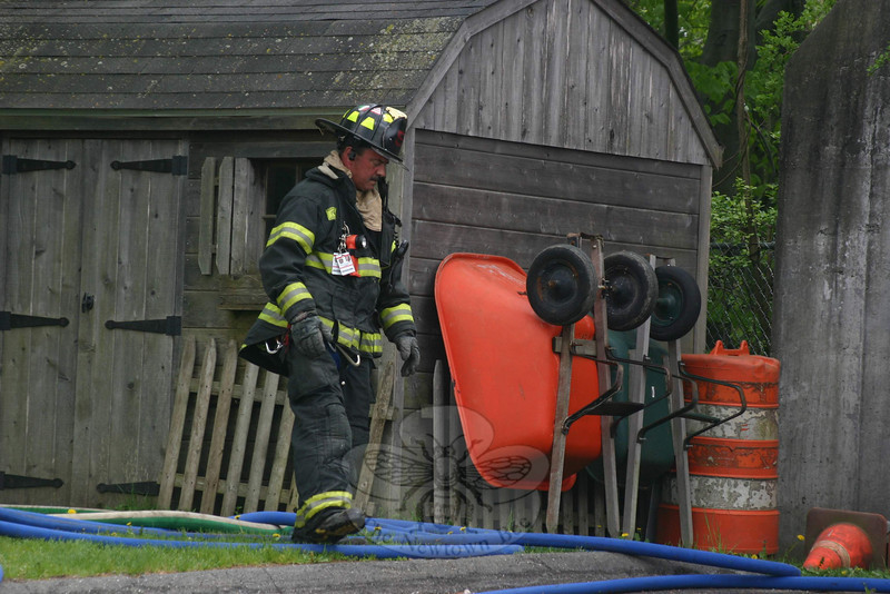 Botsford Fire Rescue Third Engineer Mark Locorotondo.   (Hicks photo)