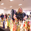 Kathi Hlavac of Sandy Hook displays items at her booth, Kathi's Creations, during the 28th Annual Holiday Festival. (Bobowick photo)