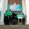 Team 26 Founder Monte Frank spoke on Saturday, March 8, at Edmond Town Hall to mark the start of the 2nd Annual Sandy Hook Ride on Washington. (Hallabeck photo)