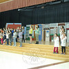Reed Intermediate School students in the school's upcoming production of Willy Wonka rehearsed after school on Tuesday, April 29. (Hallabeck photo)