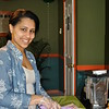 B.U. Juice Bar owner Diana Arias is pleased with the response to her shop in the few weeks she has been open. (Crevier photo)