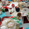 Used ornaments were on sale in Middle Gate Elementary School's art room during the 2nd Annual Snowflake Festival. (Hallabeck photo)