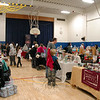 Vendors were organized throughout Middle Gate Elementary School's gymnasium on Saturday, December 6, during this year's Snowflake Festival. (Hallabeck photo)