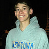 The Newtown Bee: Why should people go see Newtown High School's musical production of City of Angels, showing March 19 to 22? Jack Armstrong: It's interesting. I've never seen a show like this before. (Hallabeck photo)
