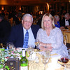 Bob Murray and Christine Fairchild joined in supporting Newtown Scholarship Association, enjoying the evening with music, dinner, and friends.  (Sherri Smith Baggett photo)