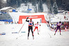 Billy Demong anchors the U.S. Ski Team to a bronze medal in the team event at the FIS Nordic World Ski Championships in Val di Fiemme. (U.S. Ski Team - Sarah Brunson)