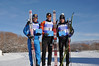 Billy Demong (1st), Lukas Runggaldier (ITA, 2nd), Tomaz Druml (AUT, 3rd) Photo: Riley Steinmetz/U.S. Ski Team