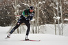 Billy Demong at a FIS Nordic Combined Continental Cup at Soldier Hollow, site of the 2002 Olympic Winter Games. (U.S. Ski Team/Riley Steinmetz)