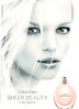 CALVIN KLEIN Sheer Beauty 2012 UK 'A new fragrance'