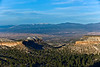 Leica M9 + Elmar 90mm f/4 at f/5.6. Left of 3-Part Panorama. View from Los Alamos Meditation Point: Truchas Peak to Santa Fe Ski Area.