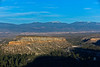 Leica M9 + Elmar 90mm f/4 at f/5.6. Middle of 3-Part Panorama. View from Los Alamos Meditation Point: Truchas Peak to Santa Fe Ski Area.