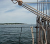 Sailing on the East Wind in Boothbay Harbor, By Joe Walsh
