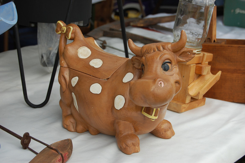 Bovine Cookie Jar