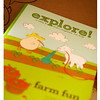 August 2014 Kiwi Crate: Farm Fun Explore! Magazine