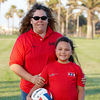 Jan and Alanna Quilantang. Red Robins, US Youth Volleyball League.