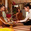 A Devotee Makes An Offering