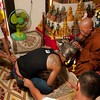 Devotee Is Strained While Receiving Spell