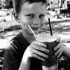Root beer float time! Old Town Temecula, CA, Feb 2013. Taken with Kodak Tri-X film.