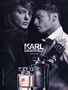 KARL LAGERFELD 2014 United Arab Emirates 'The new signature scent for women and men'