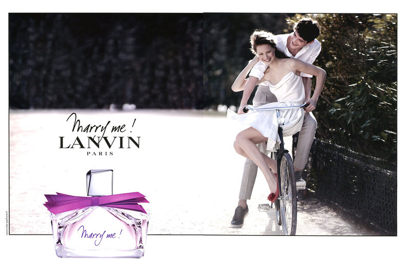 LANVIN Marry Me! 2010 France spread MODEL: Héloïse Guérin (France)
